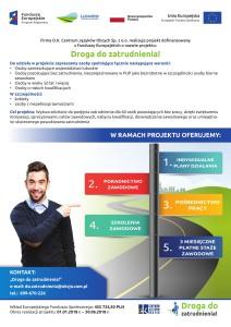 Plakat Droga_do_zatrudnienia_-1